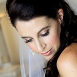 beautiful bridal makeup glowing natural look by apollo bay mobile wedding makeup artist