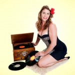Miss G pin-up photo shoot cairns wedding makeup artist and hair stylist commercial work