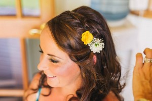 fresh flowers for bridal hair style malanda makeup artist