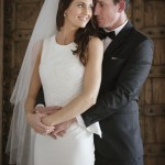rustic timber wedding the elandra mission beach mobile makeup artist bride and groom