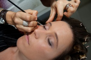 wedding day eyeliner cairns makeup artist