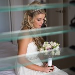 beautiful romantic bridal wedding makeup by mobile apollo bay makeup artist